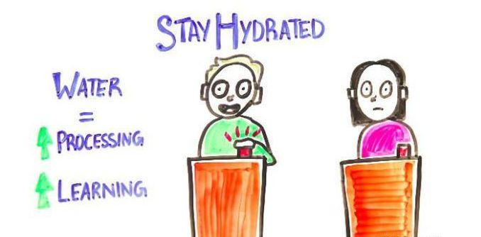 喉咙干渴,会影响到大脑的运转