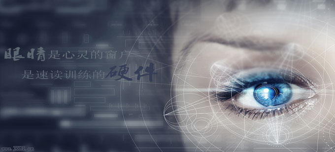 眼睛是速读训练的硬件配置