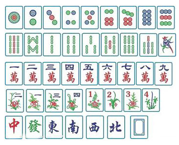 圖像轉化記憶麻將牌