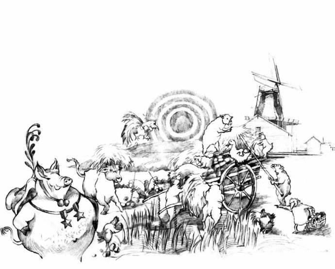 乔治•奥威尔的《动物农庄》