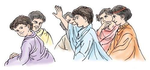 学生向苏格拉底请教怎样才能学到他那博大精深的学问。