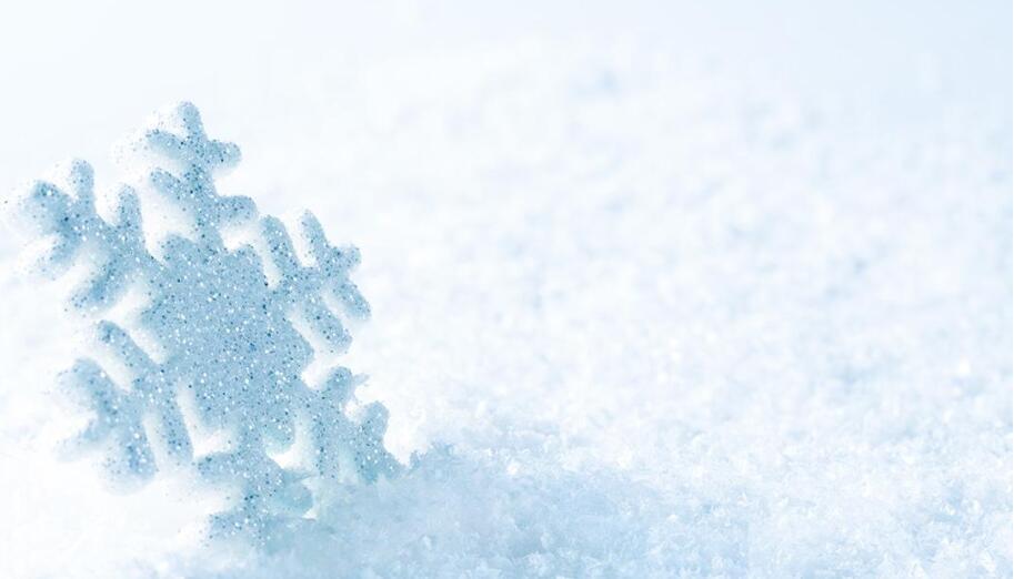 水的结晶-雪花