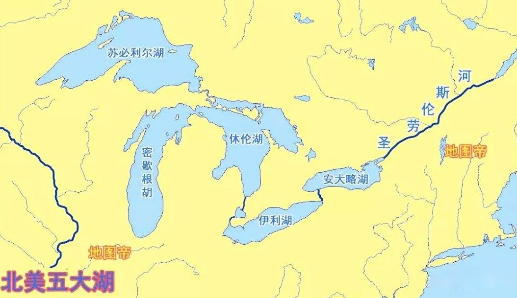 用缩略词记忆北美洲五大洋