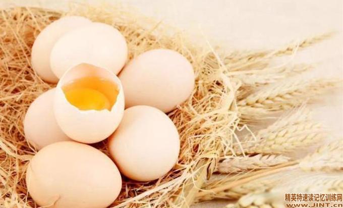 每天一个鸡蛋,促进大脑神经发育,增加记忆力